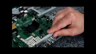Gigablue Einbau Tuner Karten und Festplatte