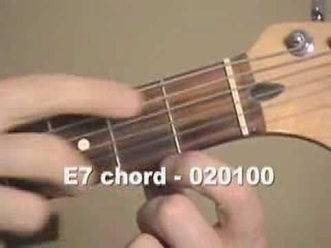 Guitar  Chord e7 Videos
