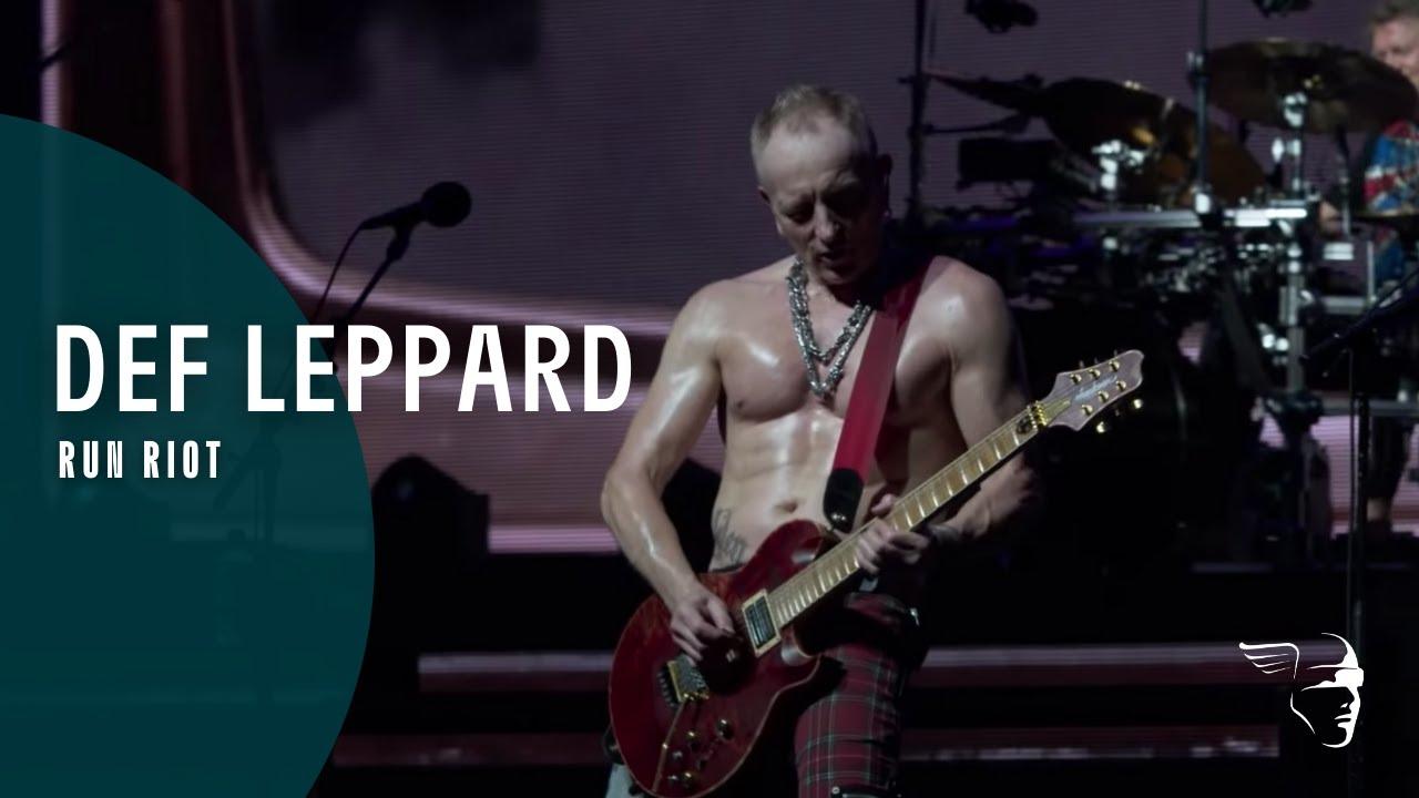 """Def Leppard estrenó el videoclip en vivo de """"Run Riot"""""""