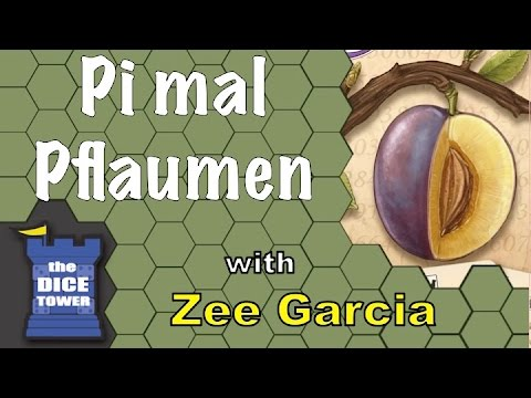 The Dice Tower reviews Pi mal Pflaumen