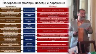 Багдасарян В.Э. «Факторы победы и поражения в конфликте в Новороссии»