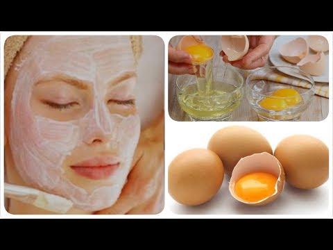 រូបមន្តជួយកម្ខាត់មុខមុន មុខប្រហោង និងអោយមុខសឆាប់រហ័ស - Egg yolk and turmeric for acne face