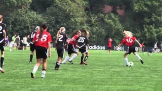 Joga Bonito SC U12 Red Girls 9 8 2013