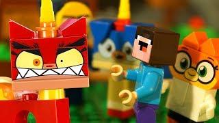 Юникитти и Лего НУБик Майнкрафт - LEGO Unikitty - Мультики LEGO Minecraft Animation