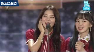 [2017 골든디스크] 음반부문 쎄씨 아시아 아이콘상 레드벨벳, 엑소 수상소감