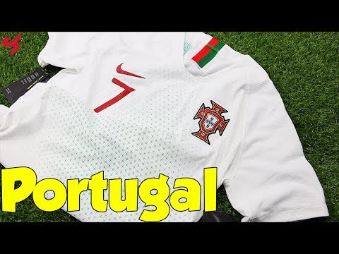 World Cup 2018 Nike Away Portugal VaporKnit Ronaldo Jersey Unboxing + Review