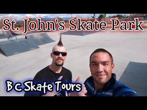 Full Skate Park Tour St. John's  Skate Park Tucson, Arizona