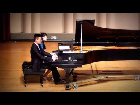 "Wenting and Jingci play pays Lavignac's ""Galop- Marche"""