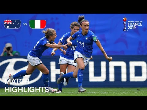 Australia v Italy - FIFA Women's World Cup France 2019™