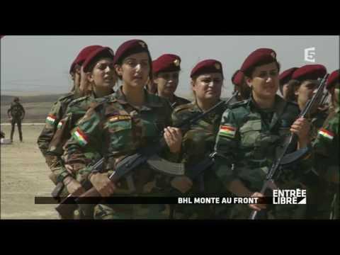 """BHL revient avec son nouveau film : """"Peshmerga"""" - Entrée libre"""