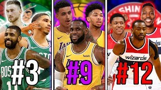 Ranking The BEST Big 3 From EVERY NBA Team