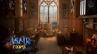 Harry Potter Inspired ASMR - Charms Classroom - Hogwarts Ambience - Sunny & Rain