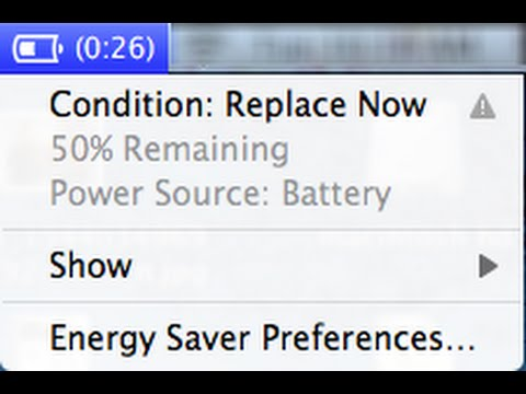 Will Bad CONDITION: REPLACE NOW Battery Slow Macbook Pro Air Power & SPEED (Service Soon Dead)