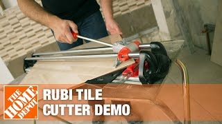 Rubi Tile Cutters Demonstration | The Home Depot