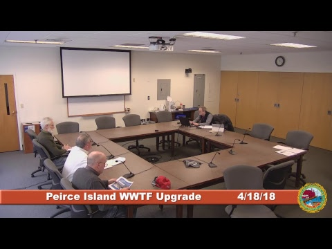 Peirce Island Waste Water Treatment Facility Upgrade 4.18.18