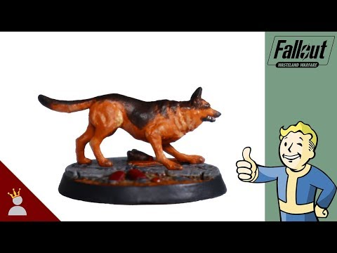Fallout Wasteland Warfare Painting: Dogmeat