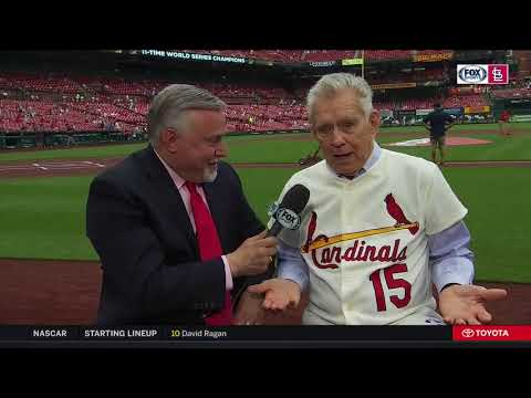 Tim McCarver on the challenge of catching Bob Gibson