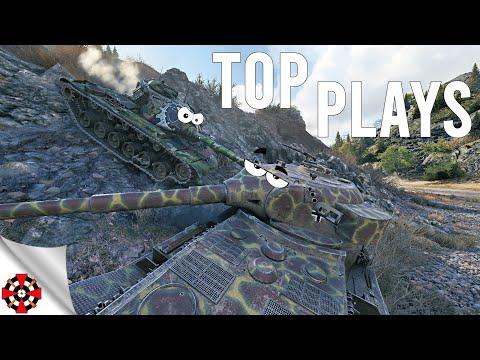 World of Tanks - TOP PLAYS! #52 (WoT T28, Pz Kpfw VII gameplay)