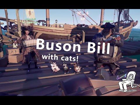 貓咪音樂盒- Buson Bill