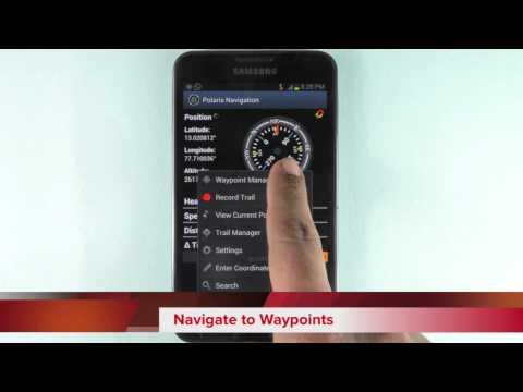 Video of Polaris Navigation GPS