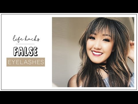 9 False Eyelashes HACKS