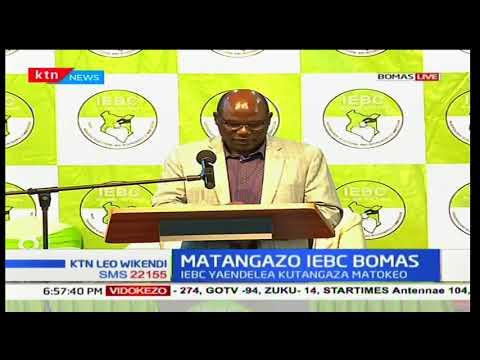 Wafula Chebukati: As at 4 Pm, 4,457, 458 were identified by the KIEM skit