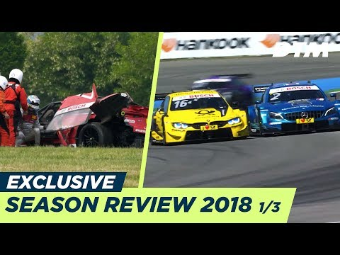 Hard battles at Hockenheim & Rast's heavy crash at the Lausitzring | DTM Season Review 1/3