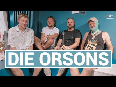 Die Orsons im Orsons Islands Microparty-Interview