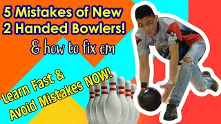 5 Common Mistakes of New Two Handed Bowlers & How To Fix Them