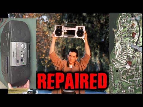 EEVblog #1243 - Sony Boombox REPAIR and Teardown