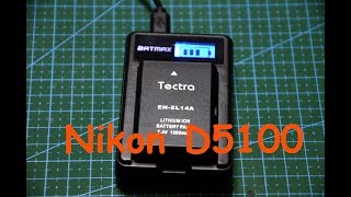 Батарея и зарядка для Nikon D5100 c AliExpress Battery and Charging for Nikon D5100 c AliExpress