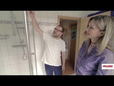 Duschkabine anbringen | Schritt-für-Schritt-Anleitung