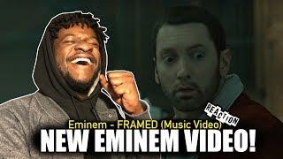 Eminem - Framed (Music Video) REACTION!