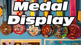 How To Display Running Medals - Running Medal Display Hanging Upgrade
