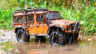 OFF Road RC Car in the RAIN and MUD — RC Cars MUD OFF Road — RC Extreme Pictures