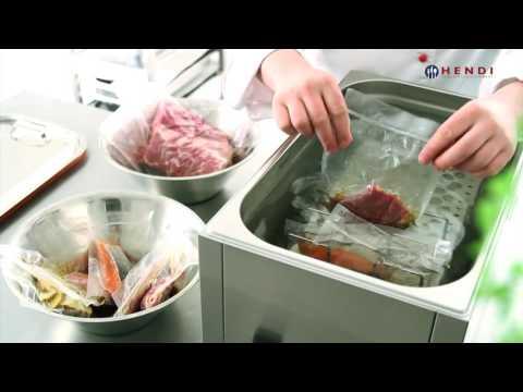 Sous-vide koken volgens Hendi