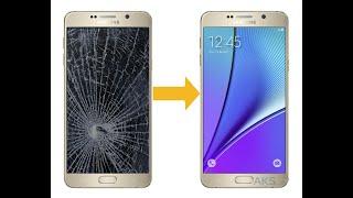 Замена Дисплея Samsung Galaxy Note 5 SM-N920 ( Полный Разбор и Ремонт )