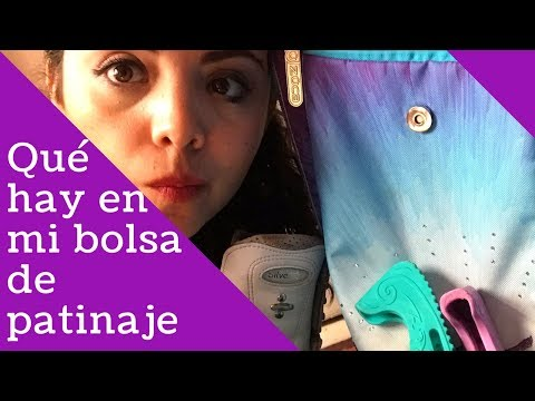 Qué hay en mi bolsa de patinaje [what's in my skating bag]