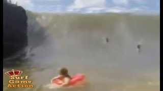 People Slammed By Massive Waves 2