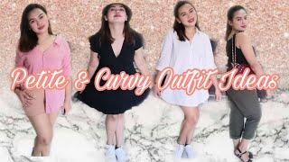 PETITE & CURVY OUTFIT IDEAS | LOOKBOOK #curvyoutfits #petite #outfitideas