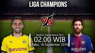 VIDEO: Live Streaming Liga Champions Dortmund Vs Barcelona Rabu (18/9) Pukul 02.00 WIB