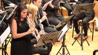 preview picture of video 'Concierto para oboe en mi bemol de Vicenzo Bellini, Paula Lara'