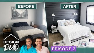 'Design Duo' Ep. 2: Couple's Incredible Bedroom Redesign in 100-Year-Old House
