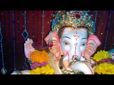Parag Sawant Home Ganpati Decoration Video