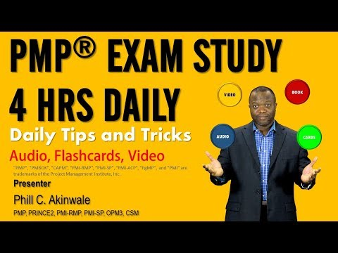 How to Study for FOUR Hours Daily for the PMP Exam - YouTube