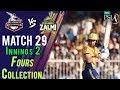 watch Peshawar ZalmiFours   Peshawar Zalmi Vs lahore Qalandars   Match 29   16 March   HBL PSL 2018