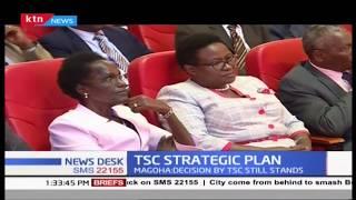 TSC STRATEGIC PLAN: 160 interdicted for disrupting CBC program