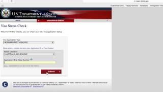 Administrative Processing 221g - Check Application Status