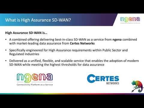 Webinar sobre SD-WAN de alta seguridad con Certes y ngena