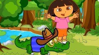 Baby Dora Care Baby Crocodile - Dora the Explorer - Dora Game New Episodes 2015 HD